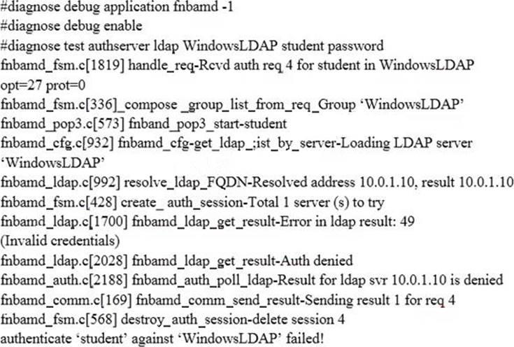 NSE7 Enterprise Firewall – FortiOS 5 4 Exam Dumps – Valid IT