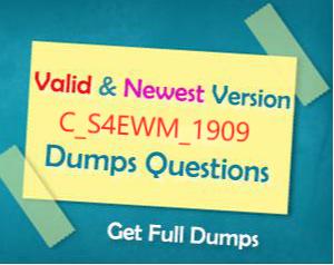 Valid C_S4EWM_1909 Test Duration
