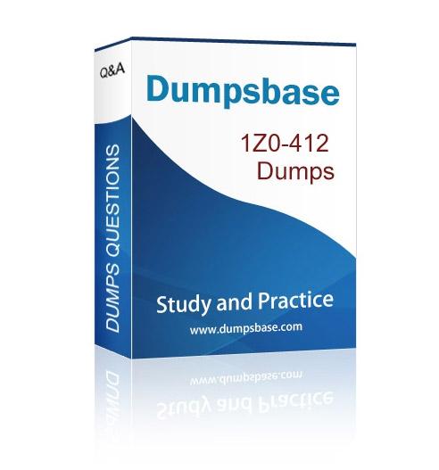 Oracle Certification Program 1Z0-412 Dumps Question,100