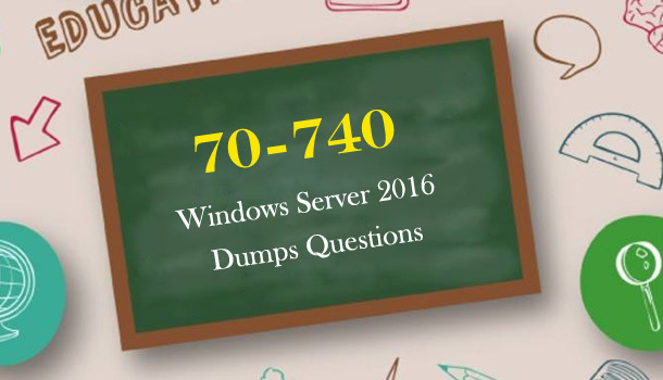 70-410 windows server 2016 dumps questions