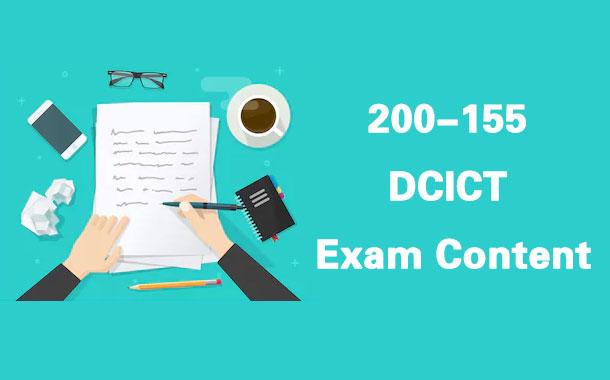 200-155 DCICT Exam Content