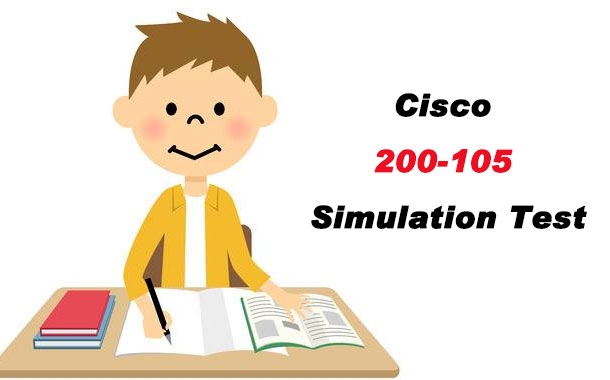 Cisco 200-105 Simulation Test
