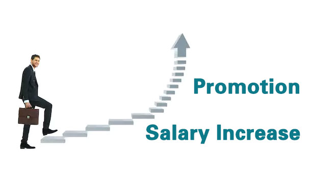 Promotion, Salary Increase