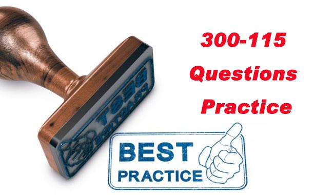 300-115 Questions Practice