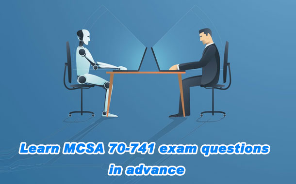 Learn about MCSA 20-741 exam questions in advance