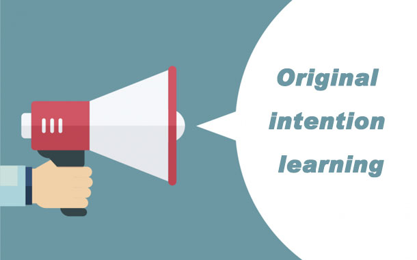 Original intention learning