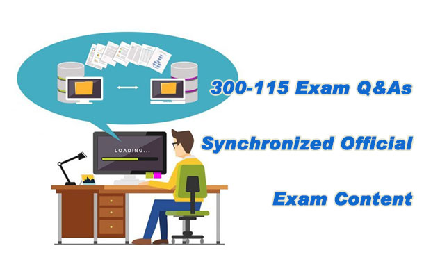 300-115 Exam Q&As   Synchronized Official Exam Content