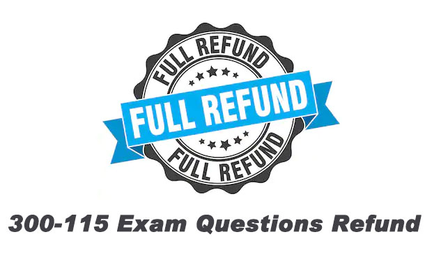 300-115 Exam Questions Refund