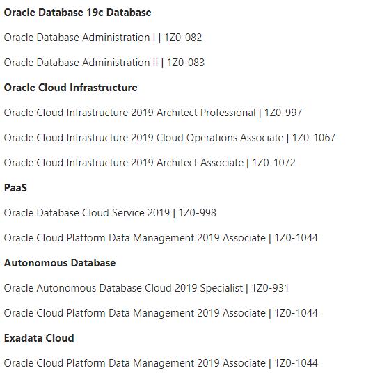 Valuable Oracle Autonomous Database Certification 1Z0-931